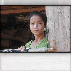 """National Geographic"" portrait... (Yorick...) Tags: life portrait girl beauty village traditional teen teenager weaver laos"
