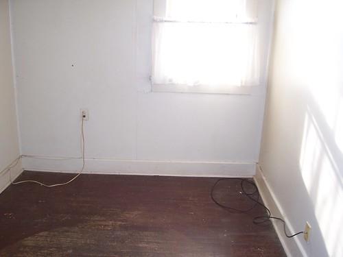 white bedroom office
