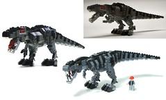 evolution (psiaki) Tags: park lego dinosaur evolution rex jurassic trex tyrannosaurus moc