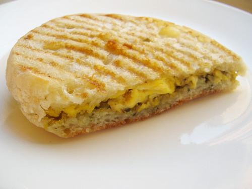 egg & pesto panino @ inoteca