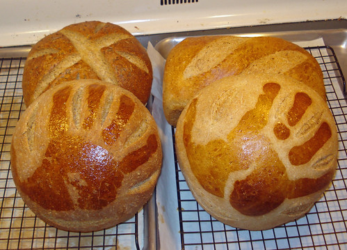 hand print loaves