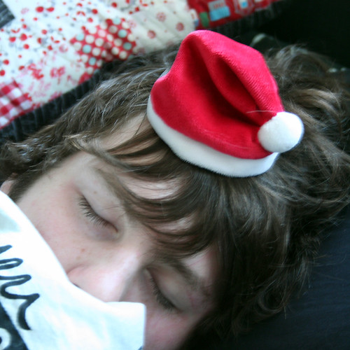 Santa Hat for Sleeping Beauty