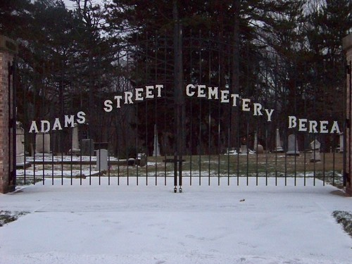 Adams Street Cemetery Gate - Berea, Ohio