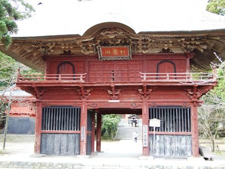 乙宝寺~山門