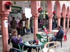 café cortado in Tarifa