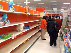 The Toy Section at Target