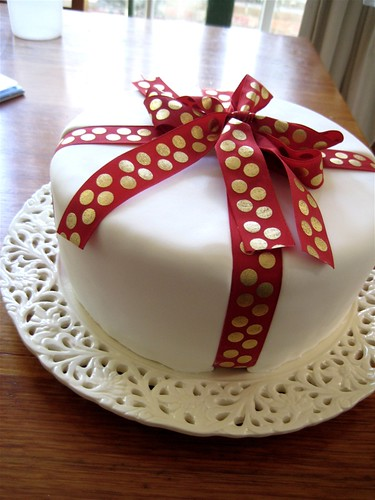 Christmas cake for Mum