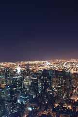 80 stories up (hannah.mishin) Tags: city nyc newyorkcity night buildings nightshot empirestatebuilding nycskyline senic newyorkcitylights