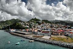 Christmas in Grenada (Jeff Clow) Tags: travel cruise vacation holiday tourism port harbor getaway grenada caribbean stgeorgesgrenada abigfave jeffrclow
