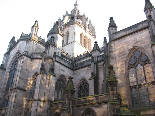 St. Giles Cathedral in dappled light