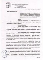 DECLARATORIA C.DEL EJE 1 (Qalino) Tags: guerra 53 59 soldados excombatientes conscriptos operativoindependencia