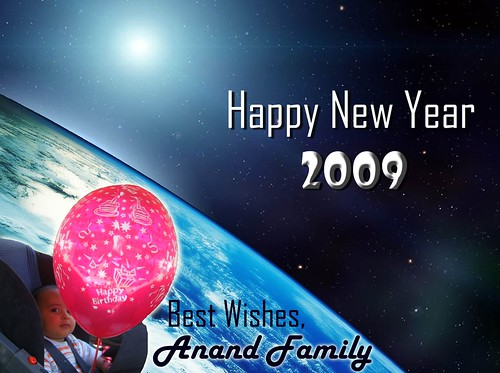 New Year Card 2009