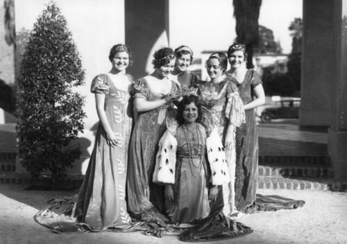 Rose Queen and her Court, 1931