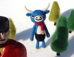 Year of the Ox (feltmates!) Tags: paulbunyan blueox yearoftheox feltmates