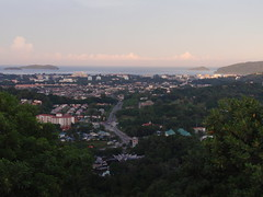 Sunrise Over Kota Kinabalu City