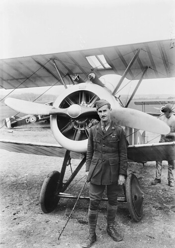 Warbird picture - Portrait of Major Wilfred Ashton McCloughry MC - Sopwith Camel Pilot