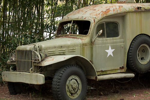 Rusty Ambulance