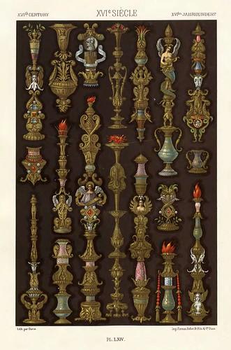 021-Ornamentos policromados siglo XVI-Das polychrome Ornament…1875