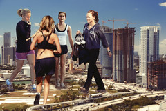 106 - Workout Warriors (jacens0l0) Tags: emmawatson giants hilaryduff giantess haydenpanettiere ashleytisdale goliaths
