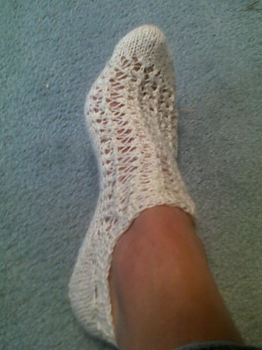 summer lace sock project 006