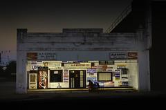 A&A Bail Bonds (photographyguy) Tags: shreveport louisiana bailbonds politicalsigns nightphotography downtownshreveport