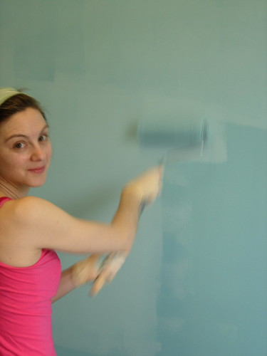painting craft room wall