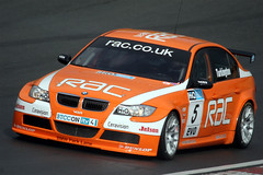 Colin Turkington (BMW) (glediator) Tags: car speed engine competition 2008 circuit brands btcc touringcar britishtouringcarchampionship freepractice brandshatchindycircuit