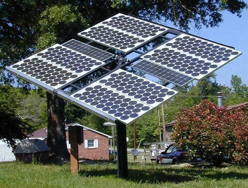 Off Grid Solar Power Array