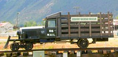 from Lake Powell to Glenwood Springs 174 (no body atoll) Tags: trip travel vacation holiday mountains cars museum train truck us 1930s buick san colorado mail juan rail visit goose service postal autos usps gauge narrow r