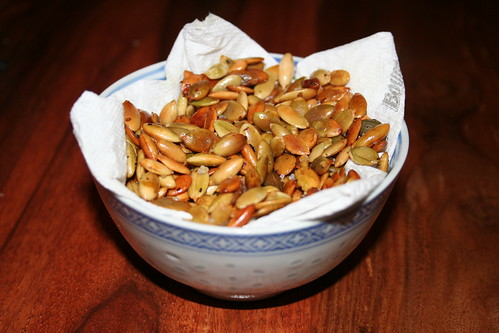 Roasted Chilli Pumpkin Seeds