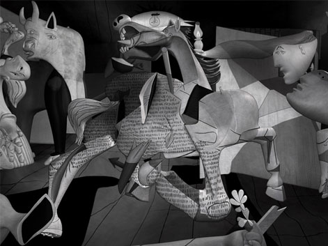picasso guernica LENA GIESEKE