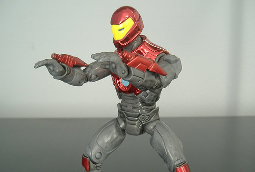 Ultimate Iron Man - blast