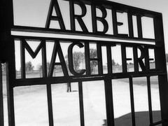 Entrance to KZ Sachsenhausen