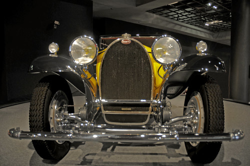 3B Bugatti 1932 Front View 1932 only 6 were made