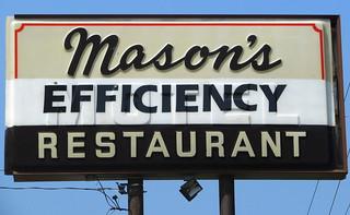 Mason's Efficiency Restaurant
