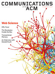 Communications of the ACM 51.7 - Cover image