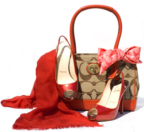 """COACH BAG, CHRISTIAN LOUBOUTIN HEELS AND COLOMBO WRAP"" by Carolina delRivero."