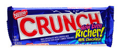 2008 Crunch Bar Wrapper (Now Even Richer!)