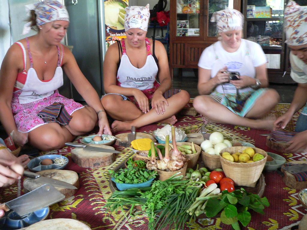 Thai Cooking class, Chiangmai, Thailand 2006