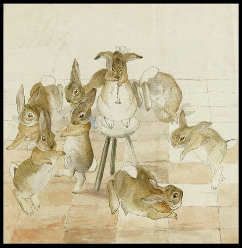 The Rabbits' Christmas Party - Dancing to a Piper