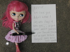 197/366 A Letter to Effie (Lawdeda ) Tags: blythe ih rbl