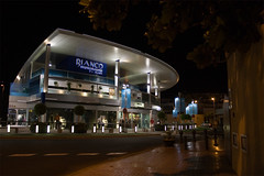 Shopping centre at night (michaelgrohe) Tags: ocean vacation costa holiday night shopping island centre kanaren canarias center atlantic tenerife teneriffa riu inseln adeje
