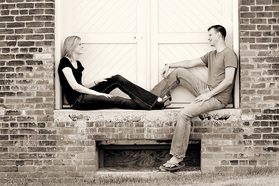 Kristen and Charles Engagement Session