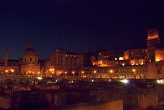 Mercati di Traiano (Capitan Mirino ( il Tartarughino )) Tags: italy panorama roma night landscape lazio notturno smrgsbord nocturn mercatiditraiano notturnoromamor hccity