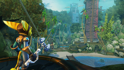 Ratchet and Clank Quest for Booty Island Vista