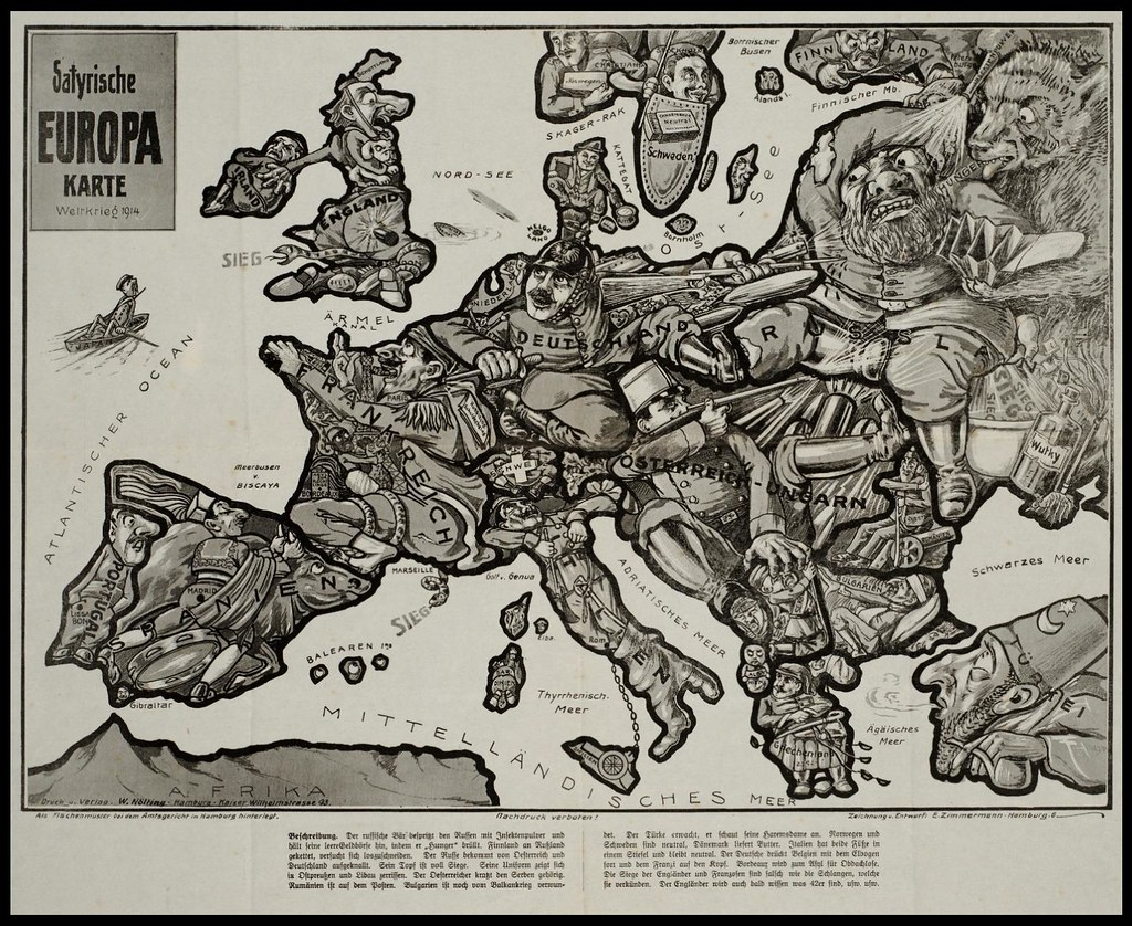 2722421074 3110b0e98c b Satirical Maps of Europe