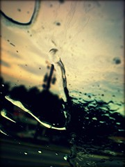 Through my Windshield... (Ekler) Tags: sky water car rain weather waterdrop driving windshield ekler abigfave olympusfe280 photoartbloggroup soloha