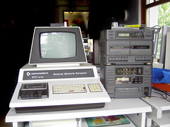 Commodore PET 2001 with hi-fi system (flickrsven) Tags: pet computer terminal stereo commodore cassette datatransfer pet2001