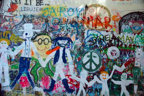 Sites of Prague: John Lennon