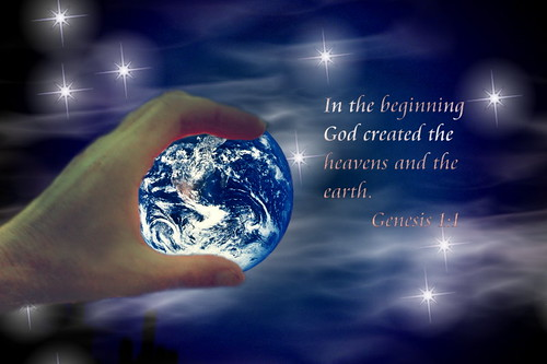 God Created the Heavens & the Earth | Flickr - Photo Sharing!